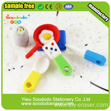 Tableware shaped eraser,Promotion stationery eraser