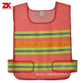 Polyester road reflective vest