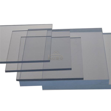 Thin Clear 10Mm Unbreakable Uv Protection Plastic Sheet