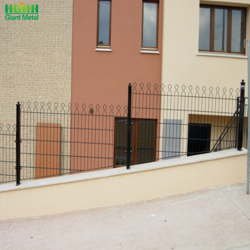 Polyester Coated Decorative Prestige Welded Mesh Fence