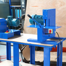 Hydraulic Pipe Cutter Rubber Cutting Machine