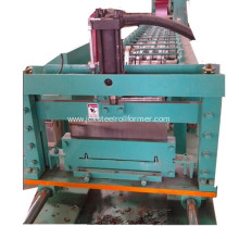 Nail strip roof forming machine