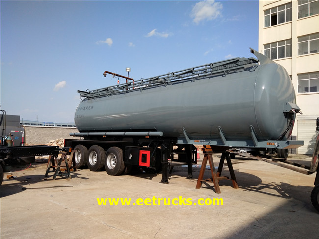 Sodium Hydroxide Tank Trailers