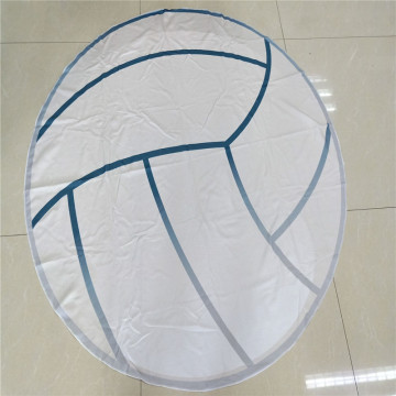 sea round beach towel with travel bag