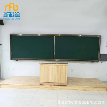 Large Green School Magnetic Chalkboard Prezzo per la vendita