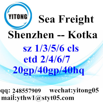 Shenzhen Sea Freight Shipping Agent to Kotka