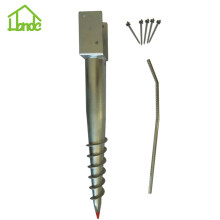 U Ground Screw for Fixing Wooden House