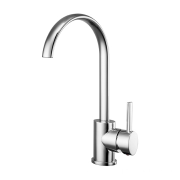 Copper core fashionable kitchen faucet