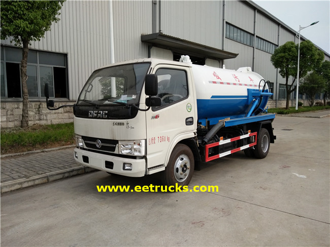 130HP Vacuum Sewage Suction Trucks