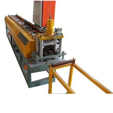 Road restraint fence tile panel roll forming machine