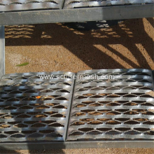 Hot sale for Perforated Metal,Expanded Metal Mesh,Perforated Aluminium Mesh Manufacturer in China Galvanized Steel Anti-slip/Non-slip Perforated Metal Tread supply to Germany Suppliers