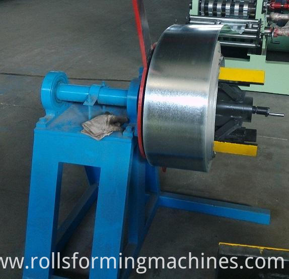 C Z U Purlin Steel Cold Roll Forming Unit--decoiler