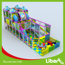 Indoor playground with Ball Pool pit climbing structure