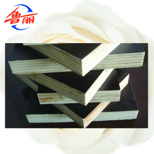 Black brown red film faced shuttering plywood