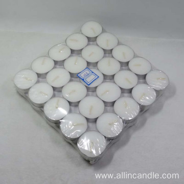 Box Package 50pcs White Tealight Candle