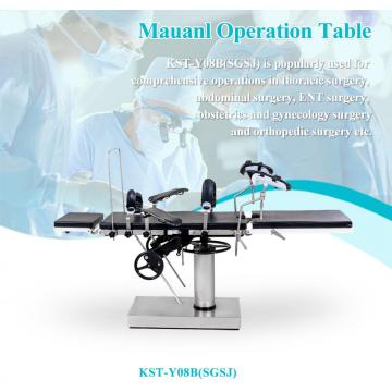 Manual Operation Table could match with Orthopedic frame