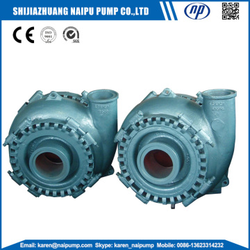 Sand gravel pumps on dredger boat