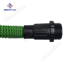 100ft brass fitting expandable garden hose