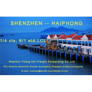 LCL Consolidation Shipping from  Shenzhen to Haiphong