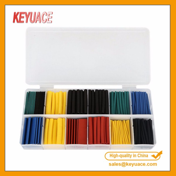 280pcs heat shrink tubing tube sleeving kits