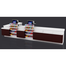 New Fashion Design for Money Counter Hot Selling Retail Checkout Counter export to Indonesia Wholesale
