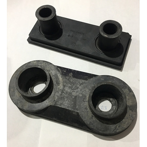 New Fashion Design for for Rubber Plastic Buffers Alu Rubber Buffer Damper Compression Rubber Buffer supply to Nauru Manufacturer