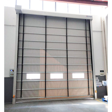 High quality stacking high speed industry door