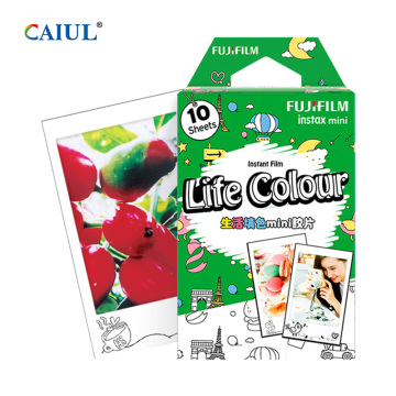Fujifilm Life Colour Instax Mini Color Filling Film