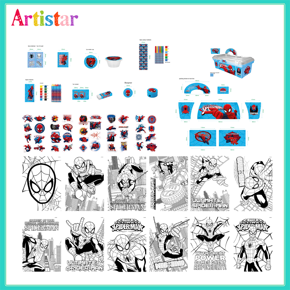 Spiderman Activity Tool Box 2