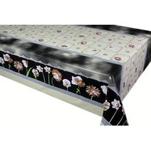 Pvc Printed fitted table covers Z Gallerie