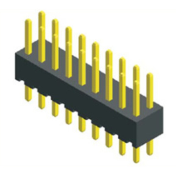 2.54mm Pin Header Dual Row Straight Type