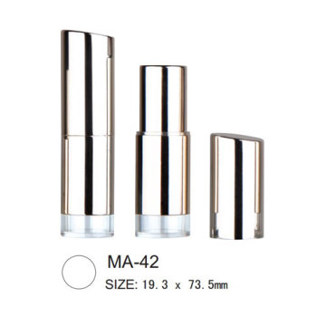 Empty Round Aluminium Lipstick Packaging
