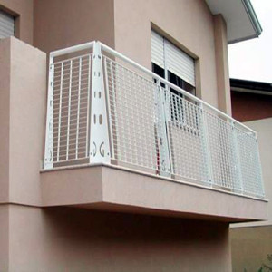 Steel Grid Balcony Fence