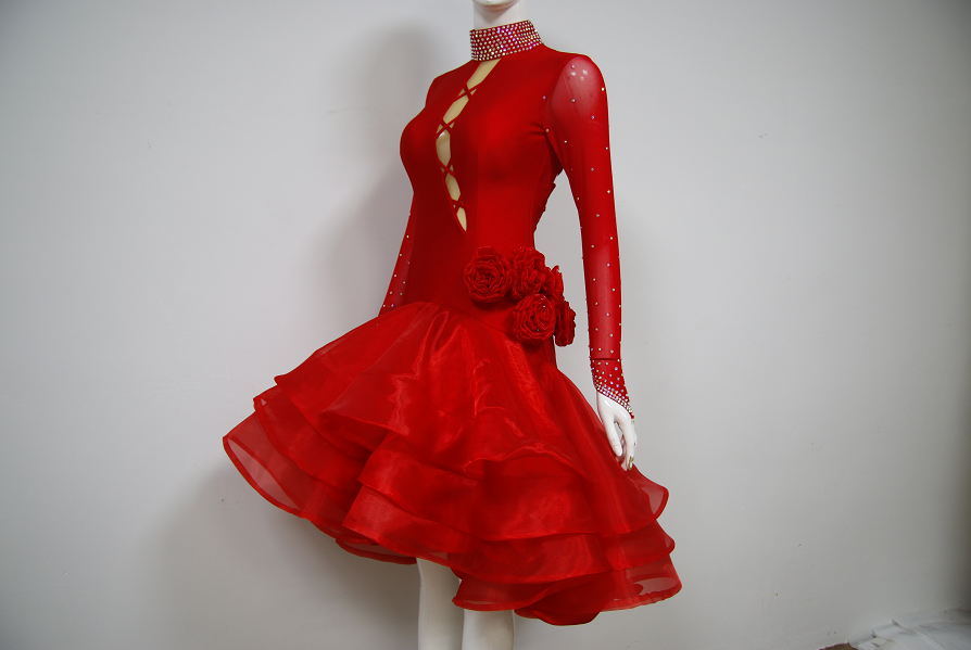 Girls Costume For Ballroom Dancing