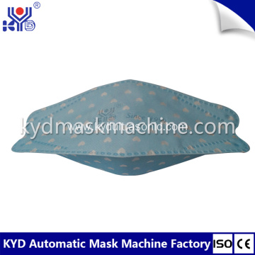 Fully Automatic Fish Type Mask Making Machine