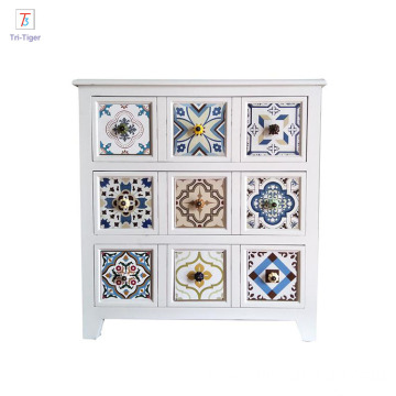 Cheap Elegant Wholesale Vintage Wooden Decoration Storage Cabinet