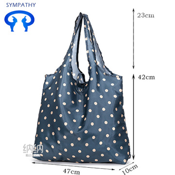 Green bag shopping bag large capacity hand bag