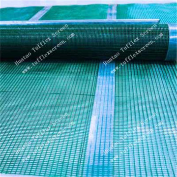 Polyurethane Coated Steel Wire Rope Screens