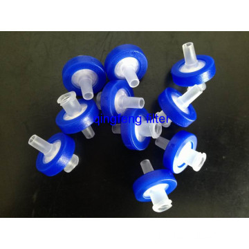 33mm  Disposable Hydrophobic/Hydrophilic PVDF Syringe Filter