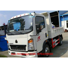 HOWO 5T Light Duty Tipper Trucks