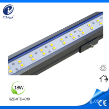 DMX512 exterior light fixtures 18W linear led lighting