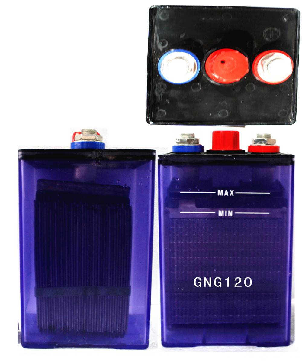 120ah KPH nicd battery for east asia