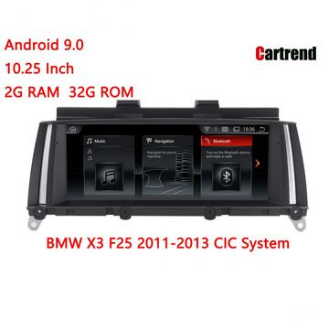 Radio de navigation BMW X3 F25 Android 9.0