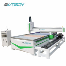 cnc router machine woodworking with rotating shaft