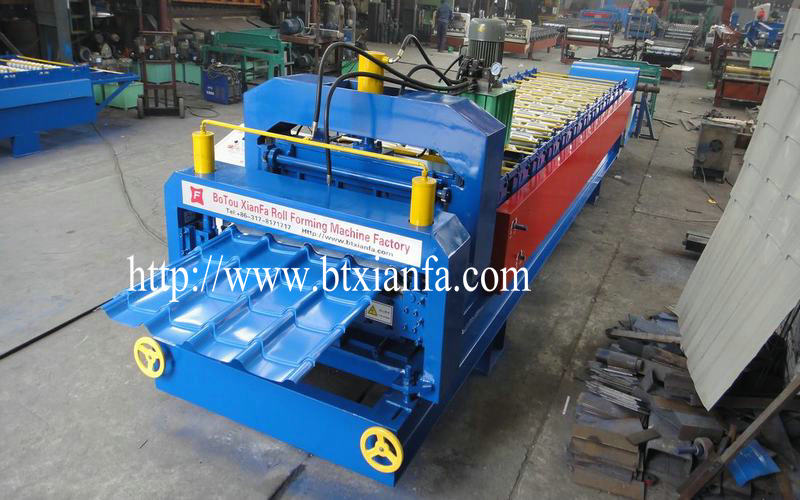 Roof Panel Double Layer Roll Forming Machine (2)