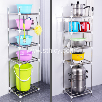 Stainless Steel Rack Kitchen Pan Rack