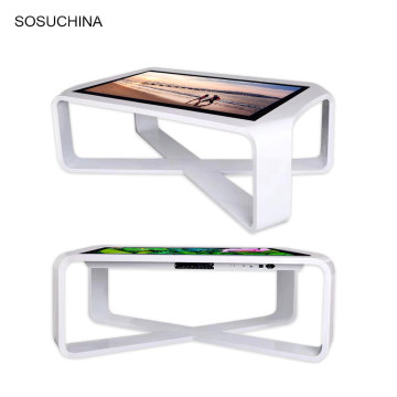 mobile interactive touch foil kiosk for tea table