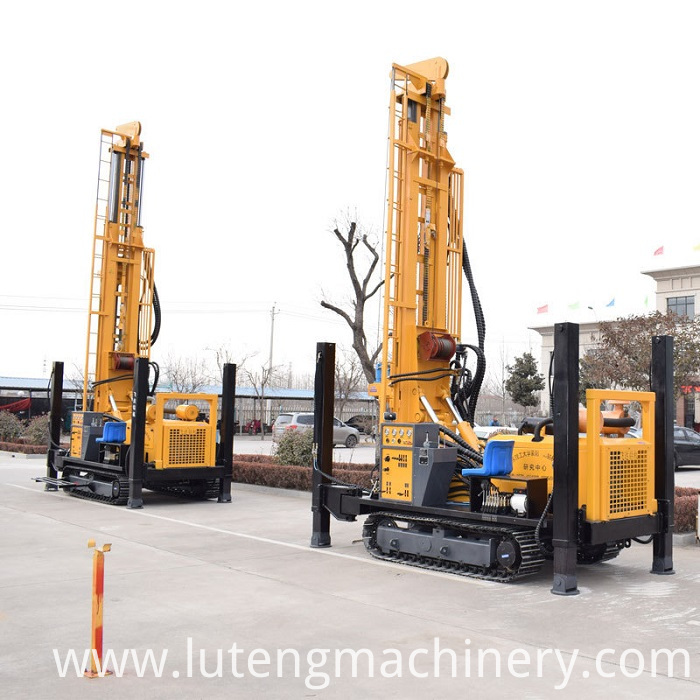 Crawler Type Drilling Machine
