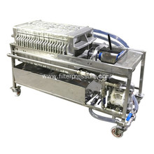 Automatic Hydraulic Sugar Syrup Stainless Filter Press