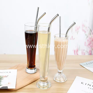 Straight Bent Drinking Food Grade Stainless Steel Straw